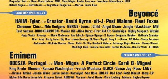 A PERFECT CIRCLE, HIGHLY SUSPECT,  GRETA VAN FLEET Set For This Year's COACHELLA Festival