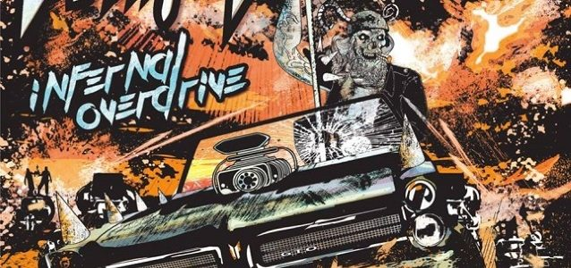 WHITE WIZZARD: 'Infernal Overdrive' Lyric Video Released