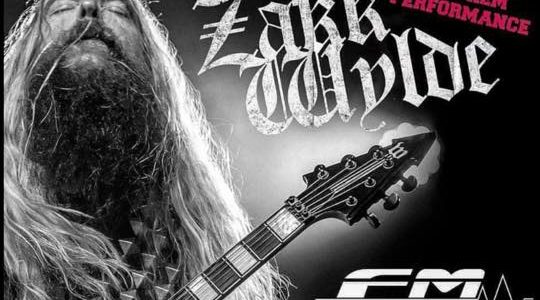 ZAKK WYLDE To Perform National Anthem At Tonight's Chicago Bulls Vs. Toronto Raptors Game