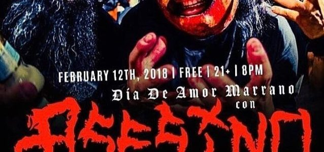 ASESINO Feat. FEAR FACTORY Members: Video Of Fullerton Concert Available; Mexican Shows Announced
