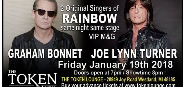 Video: JOE LYNN TURNER Performs RAINBOW, YNGWIE MALMSTEEN Classics In Westland, Michigan