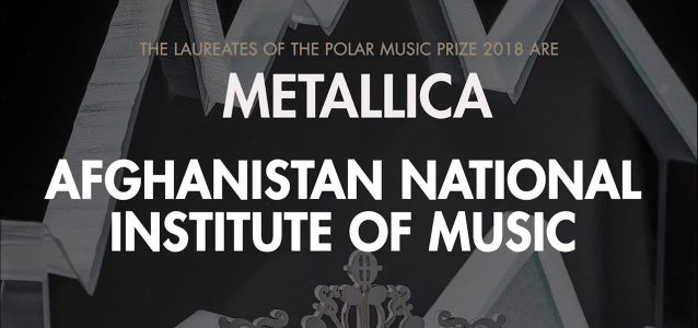 METALLICA To Receive Prestigious Swedish Award POLAR MUSIC PRIZE
