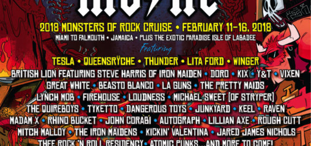 Watch QUEENSRŸCHE Perform On 'Monsters Of Rock Cruise'