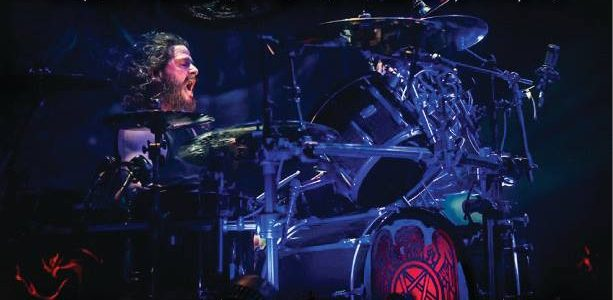 SLAYER's PAUL BOSTAPH: Video Footage Of Sacramento, Dublin Drum Clinics