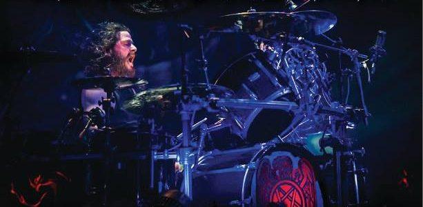 SLAYER's PAUL BOSTAPH: Video Footage Of Sacramento, Dublin Drum Clinics