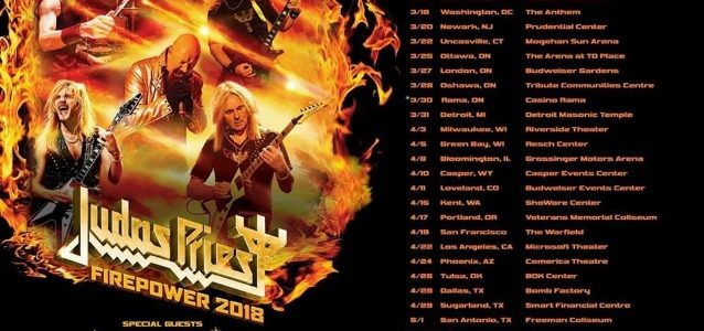 Watch Quality Footage Of JUDAS PRIEST's Concert In Washington D.C. During 'Firepower' Tour