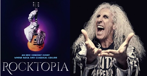 TWISTED SISTER Frontman DEE SNIDER Returns To Broadway In Epic Concert 'Rocktopia'
