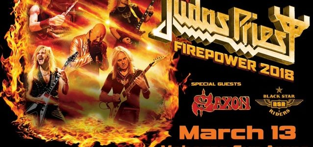 JUDAS PRIEST Kicks Off 'Firepower' World Tour In Wilkes-Barre (Video)