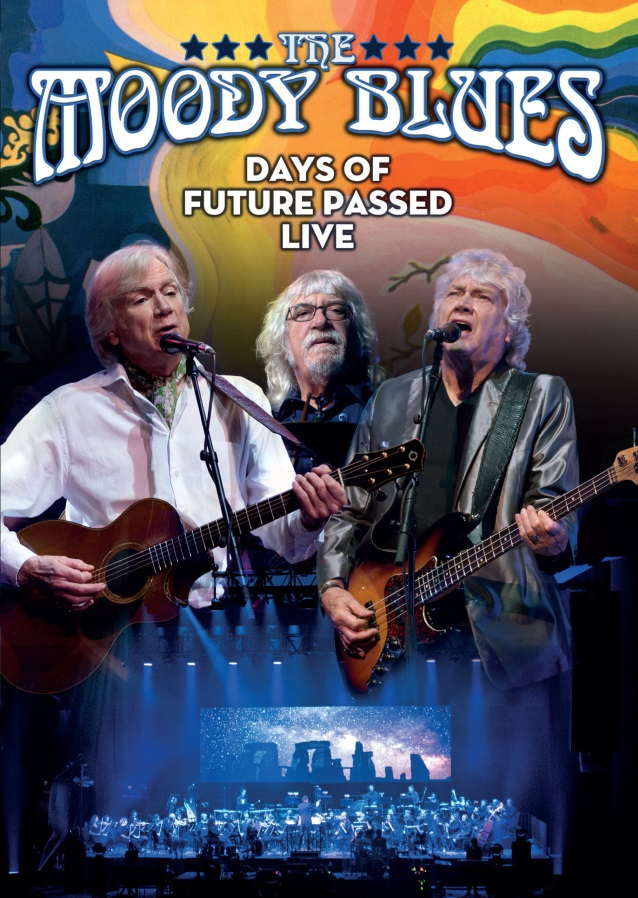 the moody blues to release 39 days of future passed live 39 dvd blu ray 2cd hard rock radio live. Black Bedroom Furniture Sets. Home Design Ideas
