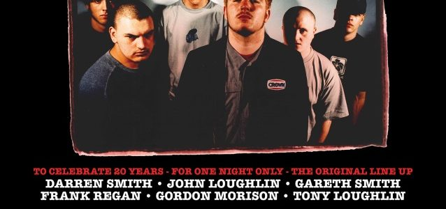 RAGING SPEEDHORN's Original Lineup To Reunite For 20th-Anniversary Show In London