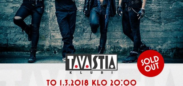 THE LOCAL BAND Feat. CHILDREN OF BODOM, THE 69 EYES, RECKLESS LOVE Members: Video Of March 2018 Helsinki Concert