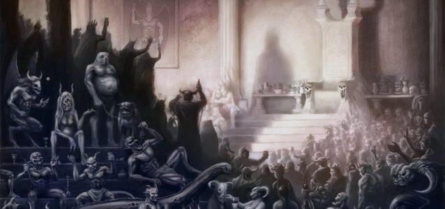 LION'S SHARE And ASTRAL DOORS singer NILS PATRIK JOHANSSON: 'Evil Deluxe' Lyric Video
