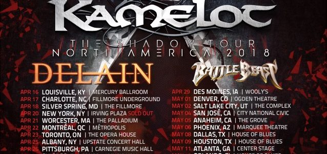 KAMELOT Singer Explains Drummer JOHAN 'JO' NUNEZ's Absence From North American Tour