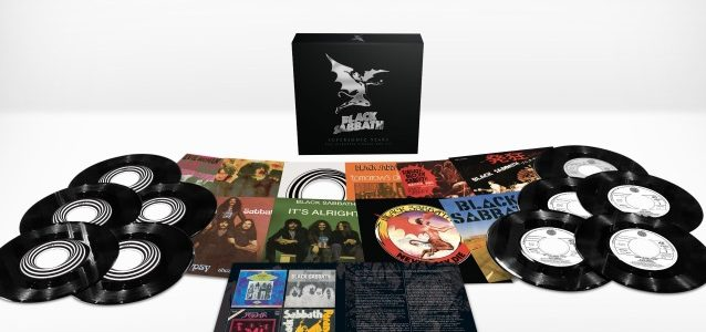 BLACK SABBATH: Official Unboxing Video For 'Supersonic Years – The Seventies Singles Box Set'