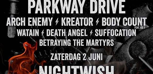 Video: DRAGONFORCE Performs At Netherlands' FORTAROCK Festival