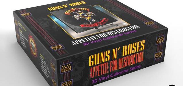 GUNS N' ROSES: 'Appetite For Destruction' 3D Vinyl Coming This Summer