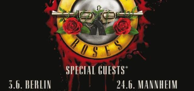GUNS N' ROSES Performs VELVET REVOLVER's 'Slither' Live For First Time (Video)