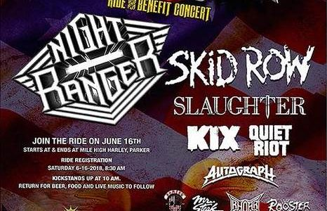 SKID ROW Performs At Colorado's FREEDOM FEST (Video)