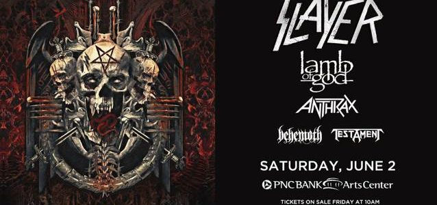 SLAYER: Front-Row Footage Of Holmdel, New Jersey Concert