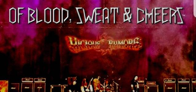 VICIOUS RUMORS To Release '666 Years Of Blood, Sweat & Cheers' DVD
