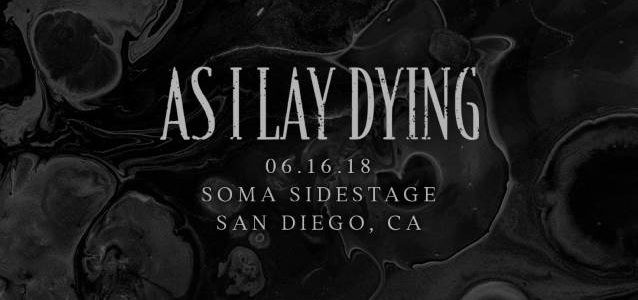 AS I LAY DYING: Official Video Recap Of First Concert In Five Years