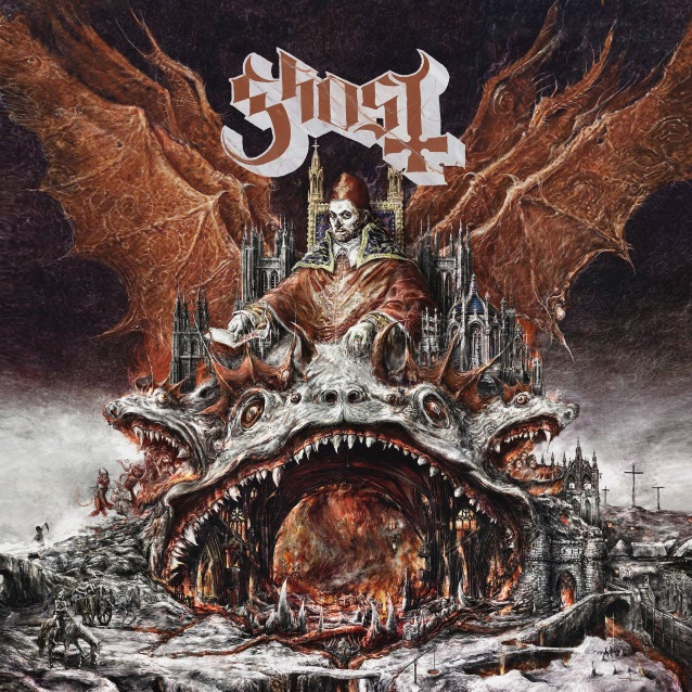 GHOST's 'Rats' Lands At No  1 On BILLBOARD's 'Mainstream