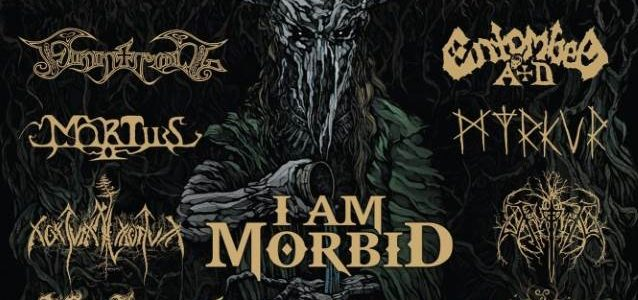 I AM MORBID Feat. Former MORBID ANGEL Members: Video Of KILKIM ŽAIBU Festival Performance