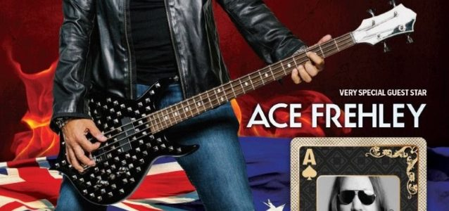 Watch ACE FREHLEY Join GENE SIMMONS On Stage In Australia To Perform KISS Classics