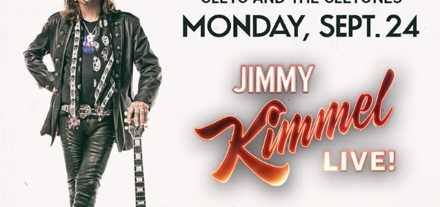ACE FREHLEY To Appear On 'Jimmy Kimmel Live!' This Monday