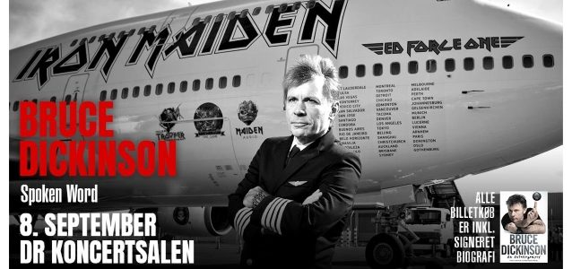 IRON MAIDEN's BRUCE DICKINSON: Video Of Entire Copenhagen Spoken-Word Appearance