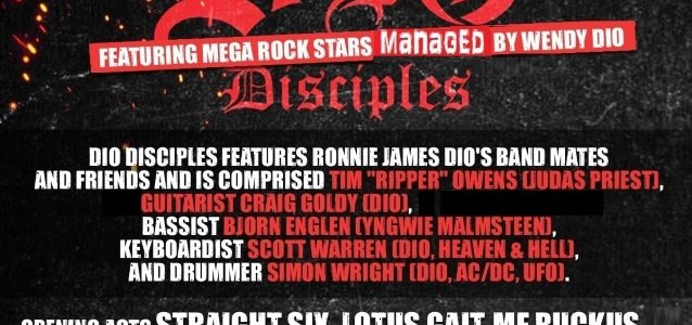 DIO DISCIPLES Perform RAINBOW, BLACK SABBATH, DIO Classics In Denver (Video)