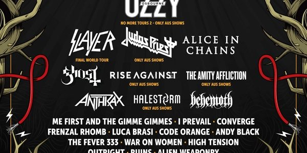 OZZY OSBOURNE, SLAYER, JUDAS PRIEST, ALICE IN CHAINS, GHOST Set For Australia's DOWNLOAD Festival
