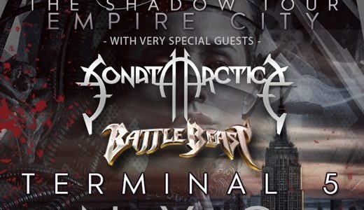 KAMELOT Announces New York City Concert With SONATA ARCTICA And BATTLE BEAST