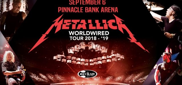 METALLICA's Concert In Lincoln, Nebraska Sets Record As 'Heaviest' Production Ever