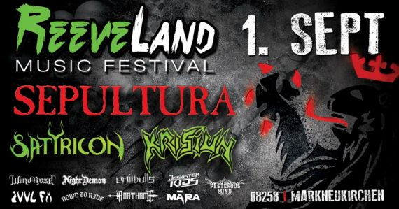 SEPULTURA: Pro-Shot Video Of Entire REEVELAND MUSIC FESTIVAL Concert