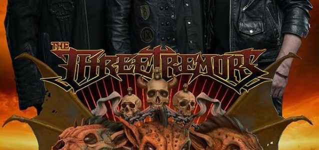 THE THREE TREMORS Feat. TIM 'RIPPER' OWENS, SEAN PECK And HARRY CONKLIN: Video Of Athens Concert