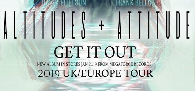 ALTITUDES & ATTITUDE Feat. MEGADETH's ELLEFSON, ANTHRAX's BELLO: European Dates With SLASH Announced