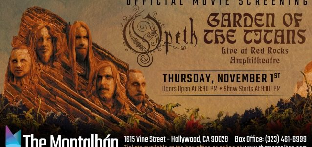 OPETH Announces 'Garden Of The Titans' Screening In Los Angeles