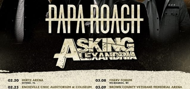 SHINEDOWN Announces U.S. Tour With PAPA ROACH, ASKING ALEXANDRIA