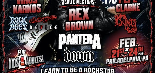PANTERA's REX BROWN To Take Part In LET THERE BE ROCK SCHOOL's 'Camp Rock Star' Event