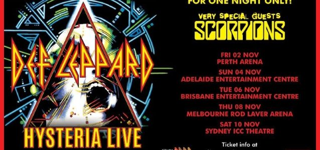 SCORPIONS: Melbourne Concert Canceled After KLAUS MEINE Is Advised To Rest His Voice