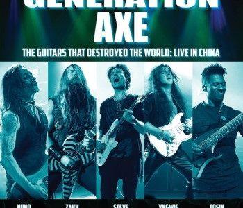 GENERATION AXE: Live Album Feat. VAI, MALMSTEEN, WYLDE, BETTENCOURT, ABASI Available Via PLEDGE MUSIC