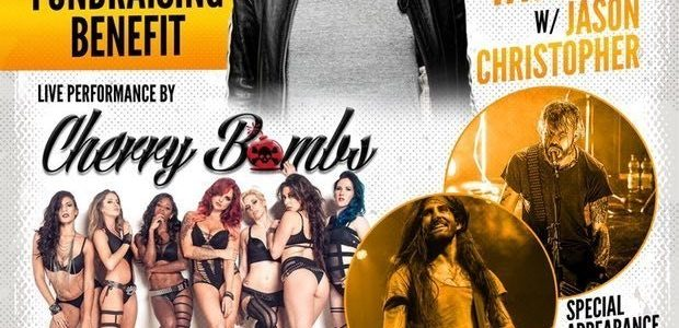 COREY TAYLOR And Girlfriend Talk Up STAR TREATMENTS Charity Ahead Of Las Vegas Benefit Concert (Video)