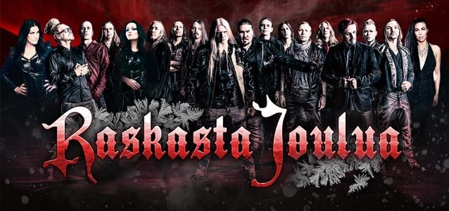 Watch DEE SNIDER And TARJA TURUNEN Perform With Finnish Christmas Rock Project RASKASTA JOULUA