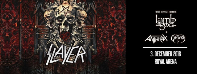 SLAYER Performs With Ex-MACHINE HEAD Guitarist PHIL DEMMEL For First Time (Video)