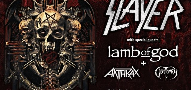Watch SLAYER Perform With Ex-MACHINE HEAD Guitarist PHIL DEMMEL In Oslo