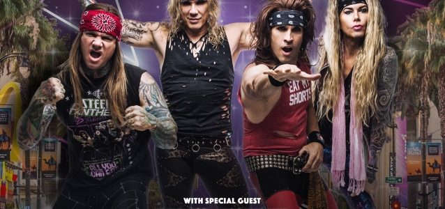 Watch STEEL PANTHER Perform With Fill-In Bassist SPYDER In Chicago