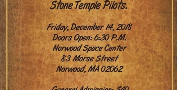 STONE TEMPLE PILOTS Play Rare Acoustic Concert For Charity In Norwood, Massachusetts (Video)