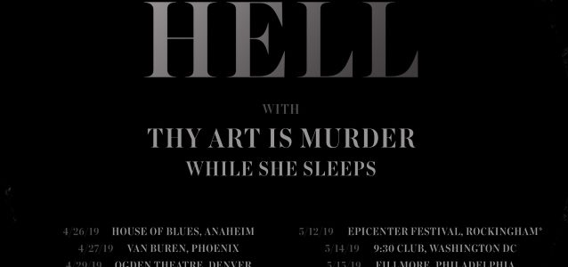 ARCHITECTS Announce North American Tour With THY ART IS MURDER, WHILE SHE SLEEPS