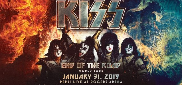 KISS Kicks Off 'End Of The Road' World Tour In Vancouver (Video)